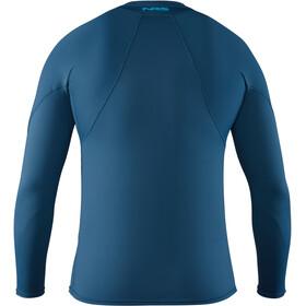 NRS H2Core Rashguard Miehet Pitkähihainen paita , sininen